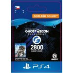 Tom Clancys Ghost Recon: Breakpoint – 2800 Credits (PS4)