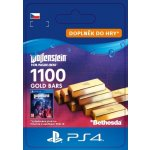 Wolfenstein: Youngblood – 1100 Gold Bars (PS4)