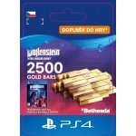 Wolfenstein: Youngblood – 2500 Gold Bars (PS4)